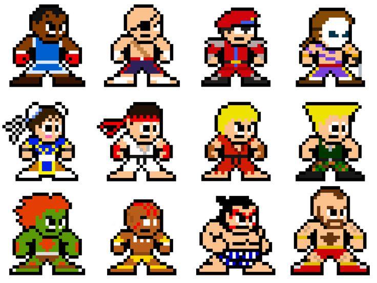 8-Bit Street Fighter 2