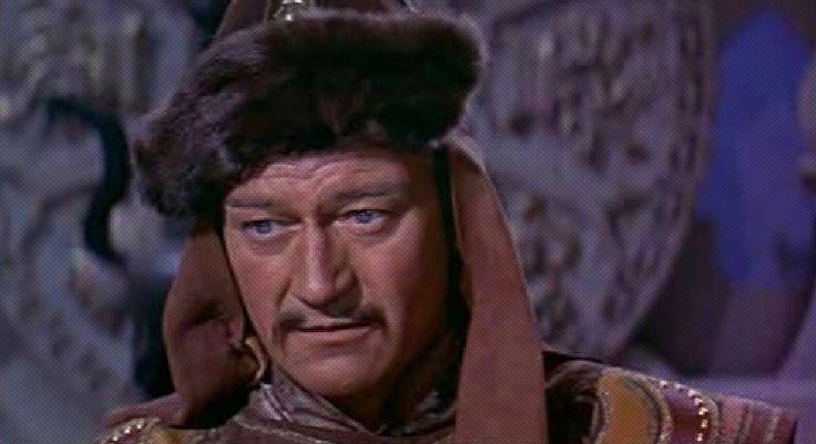 John Wayne como Genghis Khan (The Conqueror, 1956) | Cine PREMIERE