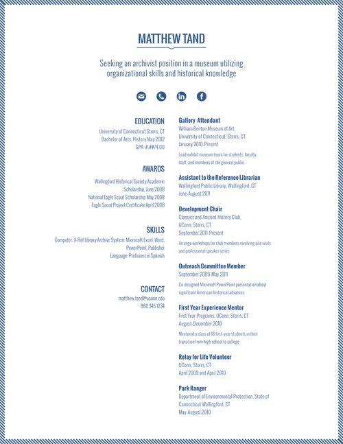 70 best Job Hunt images on Pinterest Design resume, Resume and - uconn resume template