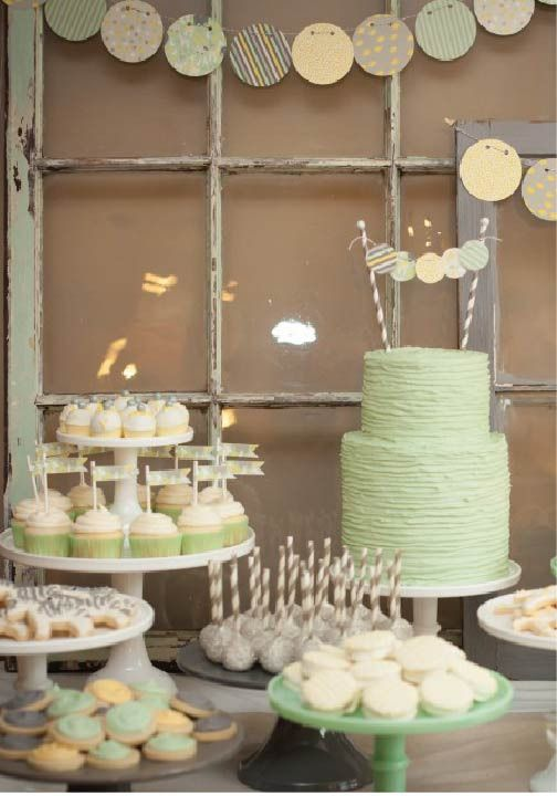 Check out these cute ideas for a gender-neutral baby shower!