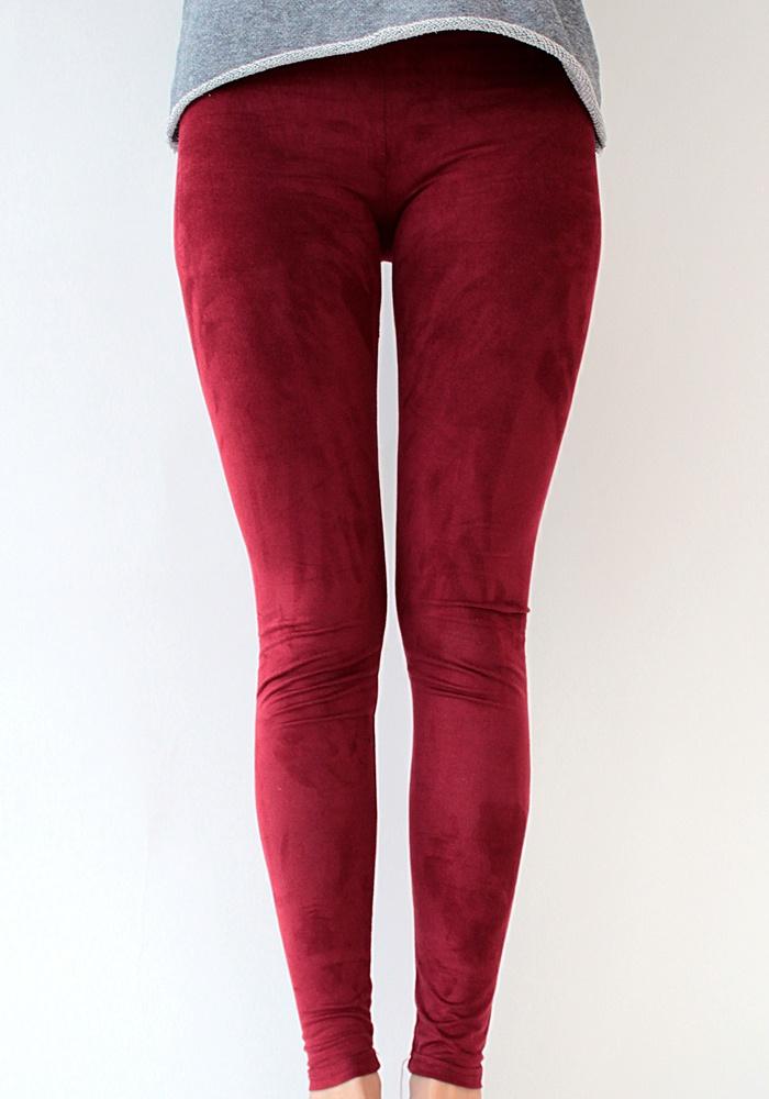 Κολαν Σουέντ Deep Red  www.myfashionfruit.com