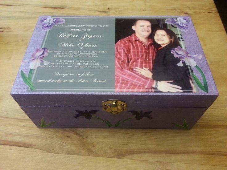 DIY Wedding Invitation Keepsake Jewelry Box I Keep My In It For