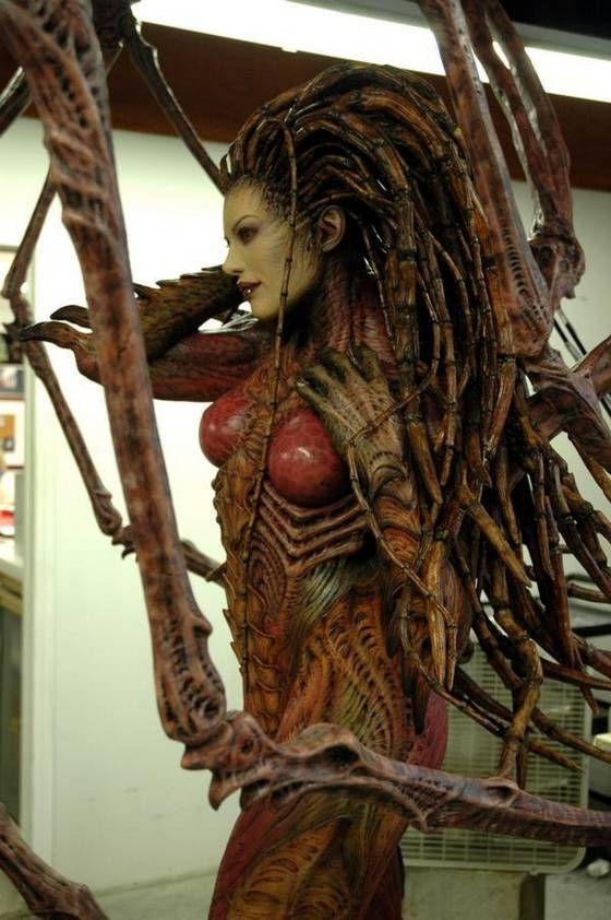 Kerrigan Sculpture #Starcraft