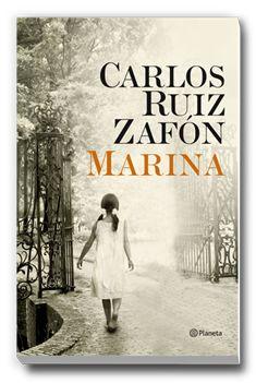 Marina - Carlos Ruiz Zafón. Novedades del mes de abril de 2014 en la biblioteca escolar http://bibliotecamatildecasanova.blogspot.com.es/2014/04/biblionovedades-del-mes-de-abril-libros.html