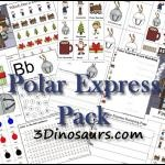 Free Polar Express MEGA Printable Pack (53 Pages) | Free Homeschool Deals ©