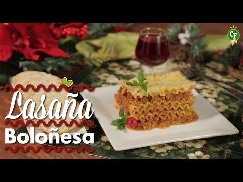 ¿Quieres saber cómo preparar una Lasaña Boloñesa para #Navidad? Descubre esto y mucho más en CocinaFresca.  Descubre muchas recetas más para saborear esta #Navidad en CocinaFresca.  #CocinaFresca es presentada por Walmart ¡Suscríbete!
