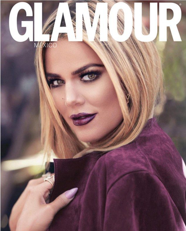 212 best khloe images on pinterest kardashian jenner hair and khloe kardashian wears dramatic purple make up and coat on pmusecretfo Choice Image