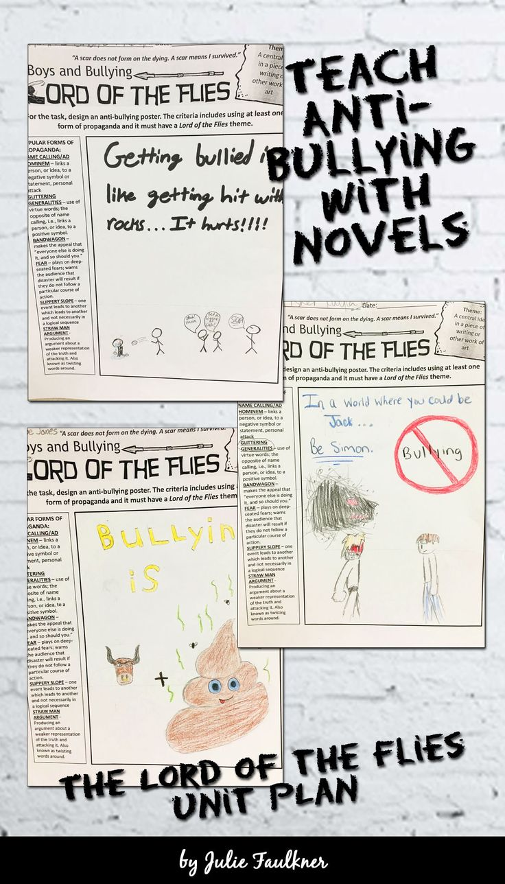 bullying lord of the flies You might be able to find some of these best movies about bullying on netflix or hulu or amazon prime 12 welcome to the dollhouse (1995)  lord of the flies (1990.