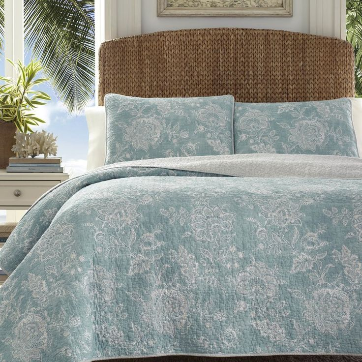 Tommy Bahama Home Tidewater Jacobean Quilt Set by Tommy