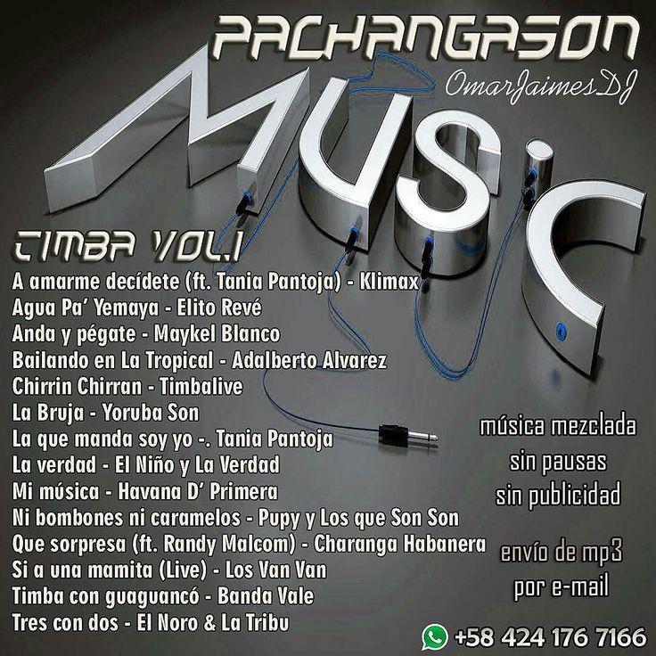 Musica mezclada envíamos MP3 por e-mail @pachangason -  #PachangaSon #Timba Vol.1 #TuDJSinDJ Música sin pausas ni publicidad Ideal para rumbas eventos reuniones locales comerciales. Pedidos directamente al Whatsapp 58 424 176 7166 Envíos por e-mail a cualquier parte donde te encuentres 1 set Bs 8K / 2 sets Bs 15K / 3 sets Bs 20K 4 sets Bs 25K /5 sets Bs 30K #music #musica #musically #mp3 #dj #mix #worldwide #argentina #chile #colombia #venezuela #españa - #regrann