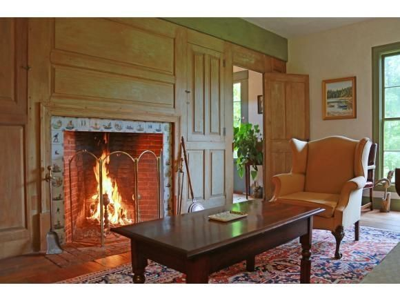 487 Best Images About Colonial And Primitive Fireplaces On Pinterest Mantels Mantles And