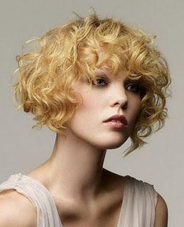 La moda en tu cabello: Peinados de moda con rizos cortos - 2016