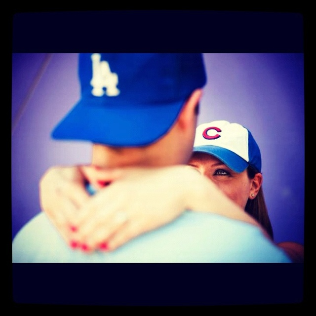 Sport fans engagement photo idea! By Shooting the Dream Photography. San Diego, CA