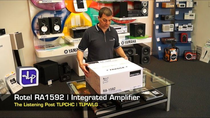 Rotel RA-1592 Integrated Amplifier UnBoxing, First Look, Review | The Li...