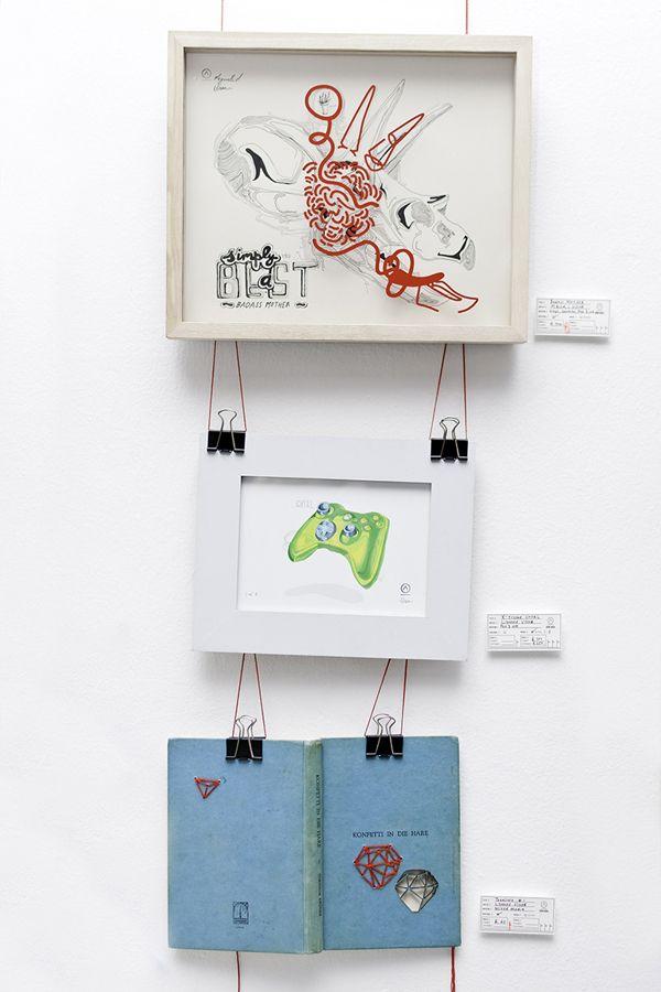 +27 Exhibition by DRIEHOEK, via Behance