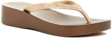 Ipanema Tropical Platform Flip Flop (Women)