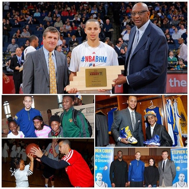 A special congratulations to Stephen Curry, who has received the @NBA's Kia Community Assist Award for January in recognition of his generosity and ongoing charitable efforts in the Bay Area. Kia and the #NBA are honoring Curry for his continued commitment to giving back to those in need by donating $10,000 on Curry's behalf to Make-A-Wish Greater Bay Area. READ MORE » warriors.com/community