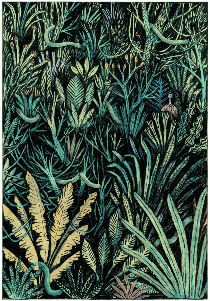 Maxime Sabourin #botanical illustrated #pattern