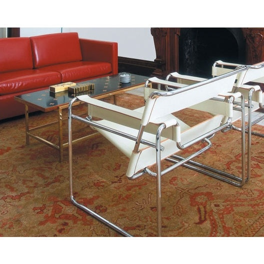 1000 images about wassily chair by marcel breuer 1925 for Chaise wassily