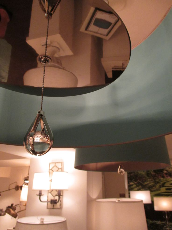 The interior of a #WILLIAMSBURG Custis pendant l& in Mayo Teal from #RobertAbbey. & 86 best WILLIAMSBURG at High Point Market images on Pinterest ... azcodes.com