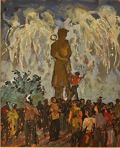 MÜTZNER SAMUEL ( 1884-1959 ) Sãrbãtoare / Celebration
