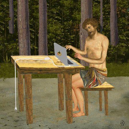 Il transforme des tableaux de la Renaissance en gifs irrévérencieux- 7 août 2014 - L'Obs