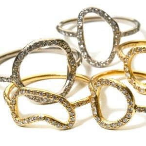 Alexandra Jefford Eclipse/Gourmette gold and diamond ring @ WHITE bIRD Jewellery