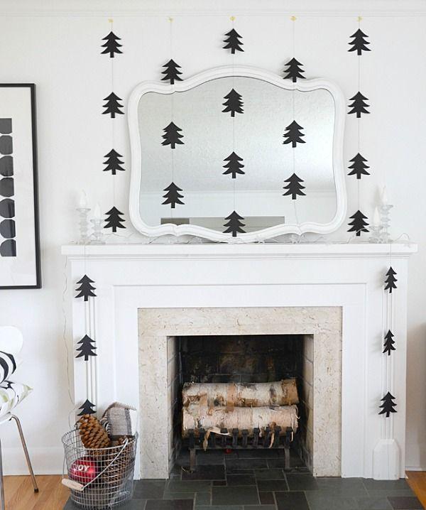 Maak deze kerst je eigen slingers om je huis mee te versieren en maak je huis zo extra feestelijk voor kerst.