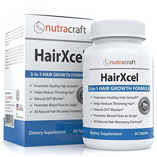 #1 Hair Loss Supplement and DHT Blocker - Natural 3-in-1 Vitamin and Herbal Remedy for Hair Recovery and Regrowth in Men and Women with Biotin for Hair Growth, DHT Blocking Herbs to Stop Thinning Hair Plus Vitamins and Ginkgo Biloba - 60 Capsules Nutracraft http://www.amazon.com/dp/B00O4VJLMO/ref=cm_sw_r_pi_dp_vXMwvb04BPCGQ