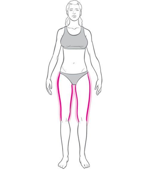 how to make inner thighs smaller