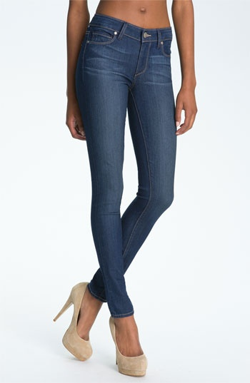 Paige 'Verdugo' Stretch Denim Leggings (Finley) available at #Nordstrom