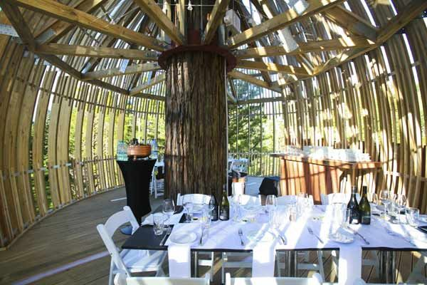 The Redwoods Treehouse- used as a venue for corporate functions and events - New Zealand