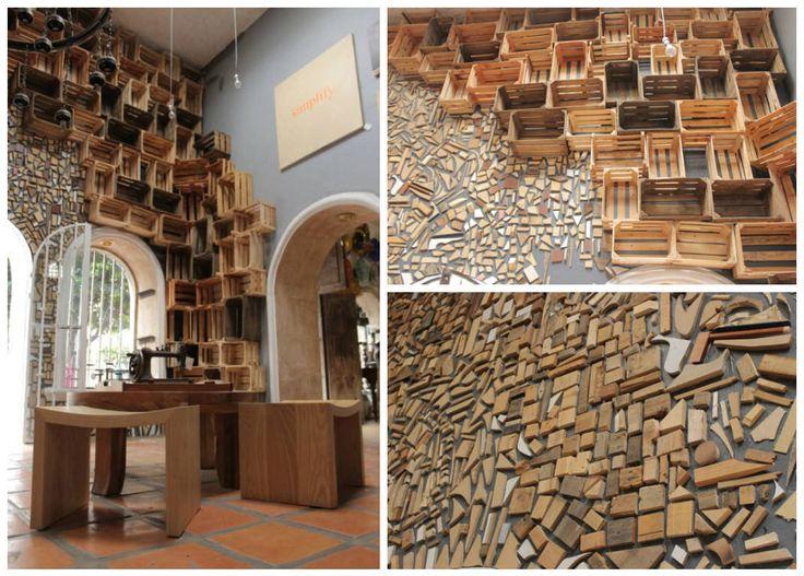 Crates HomeDcor InteriorDesign Reclaimed Wood