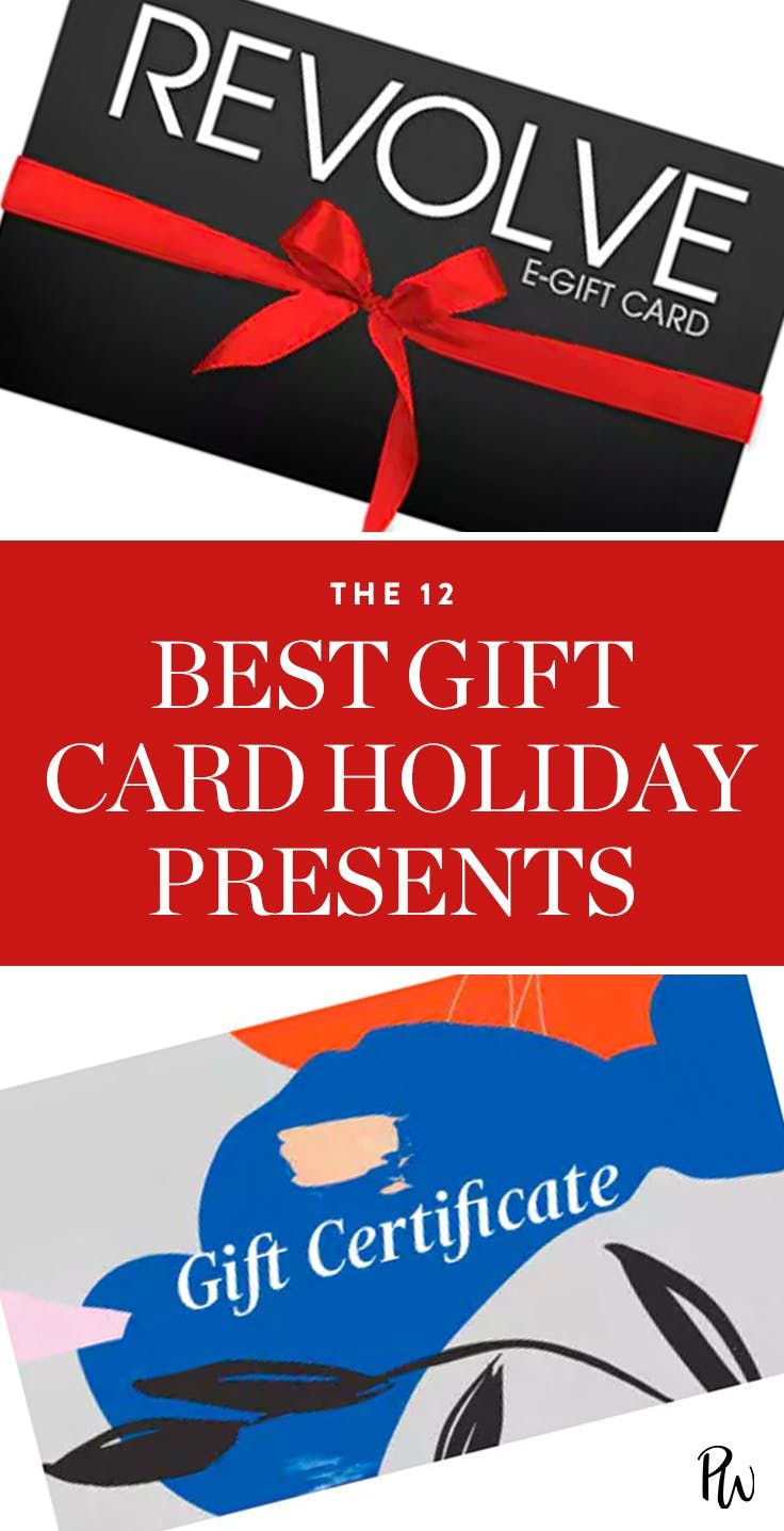 The 12 Best Gift Cards You Can Buy This Holiday Season Best Gift Cards Gift Card Gifts