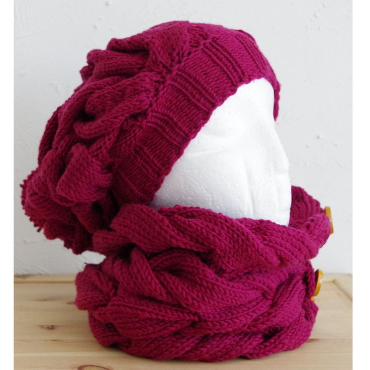 Knitting A Scarf With Circular Needles : Images about crochet knit hats scarves