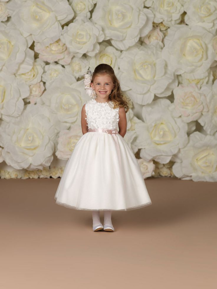 DearBridal Hot sale~!2013 New Style Flower girl IVORY/CHAMPAGNE BRIDESMAIDS WEDDING PARTY FLOWER GIRL DRESS US $45.99