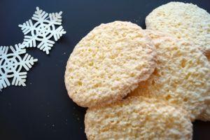 Glutenfrie kokosmakroner - oppskrift på juleblogg.no