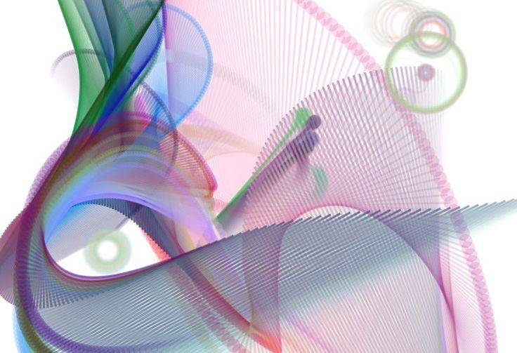 Imagen realizada con Bomomo. Aquí he querido representar a un papagayo o loro y he intentado darle los colores que lo puedan representar.