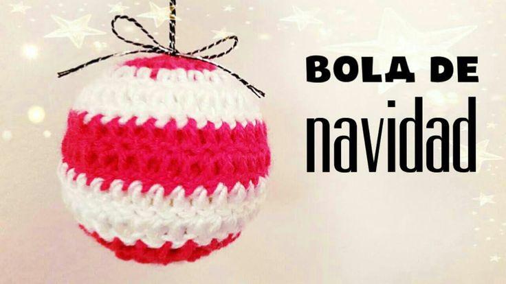 NAVIDAD   Bolas de Navidad a Crochet - usando pelotas de tenis -