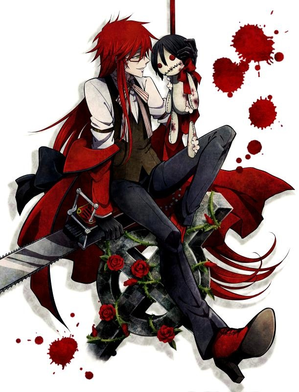 Grell is my favorite anime character ❤️ can't wait to dress up as him next year!!!
