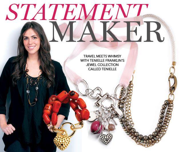TheKit.ca: Tenielle Jewelry, Coming Seasons, Called Tenielle, Franklin, Designer Tenielle, Experience