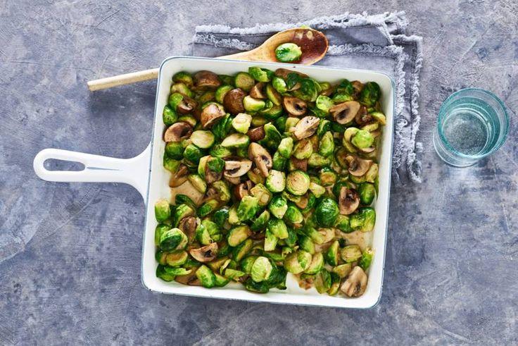 Je kunt ze koken, maar stoven in de oven samen met champignons is óók heel lekker. - Recept - Allerhande
