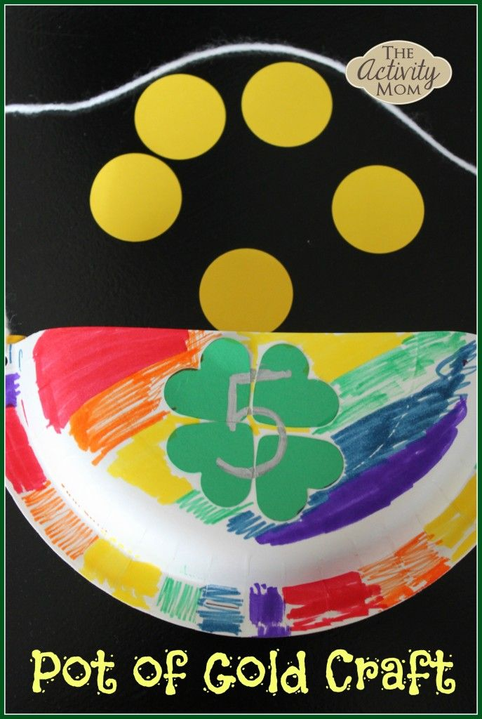 pot of gold craft 213 best st s day crafts snacks and more images 5249