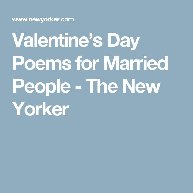 valentines day nice poems