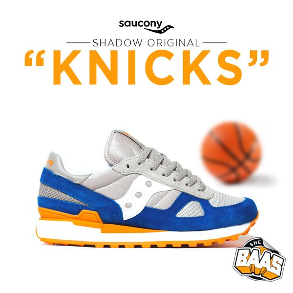 "Saucony Shadow Original ""Knicks"" now online! 