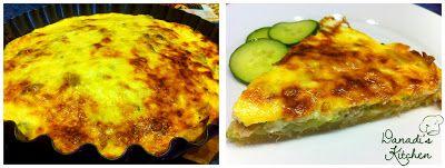Danadi's Kitchen: Cukkinis quiché