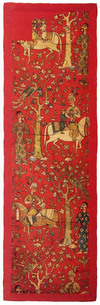 fishstickmonkey:  Fabric Iran. 16th century. Woven silk. The Museum of Oriental Art, Moscow