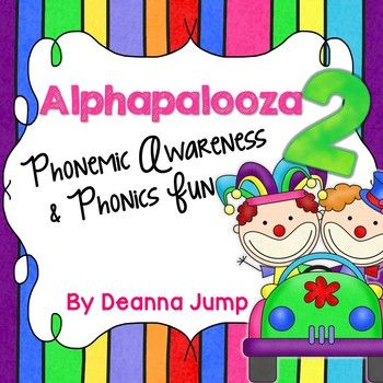 Alphabet Alphapalooza 2 This unit is PACKED with phonemic awareness and phonics fun! These games are great for whole group, small group, literacy centers and RTI
