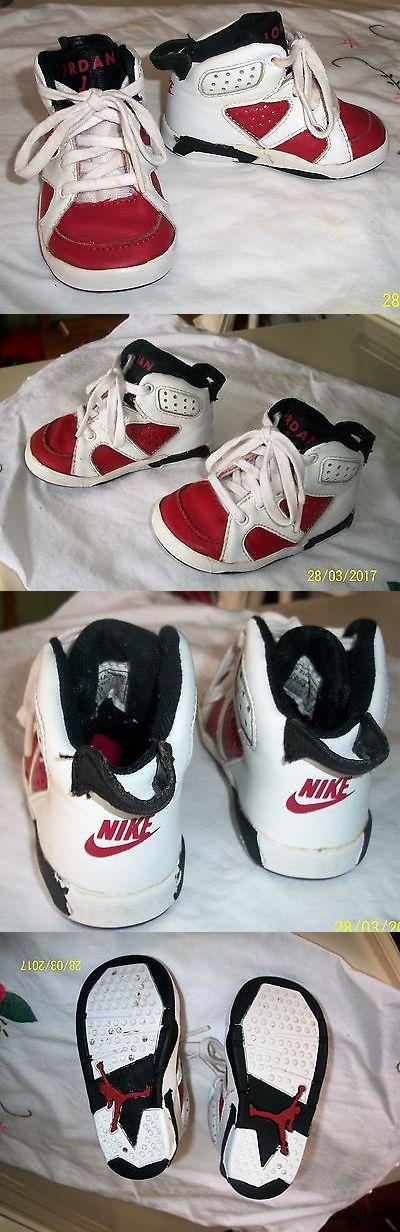 Michael Jordan Baby Clothing: Vintage Michael Jordan Baby Shoes High Top Sneakers Size 4 -> BUY IT NOW ONLY: $9.99 on eBay!