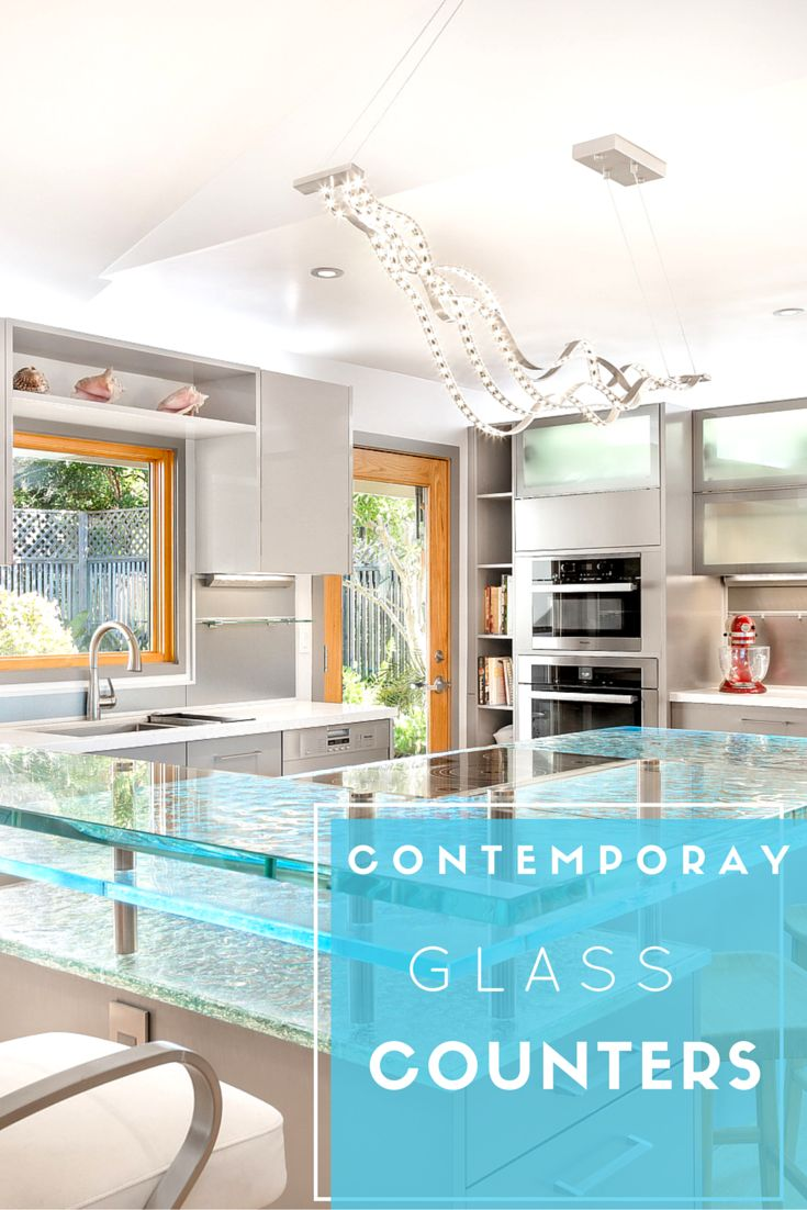 28 best Glass Countertops images on Pinterest | Glass countertops ...